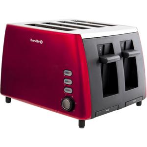 Breville VTT465 4 Slice Toaster - Red