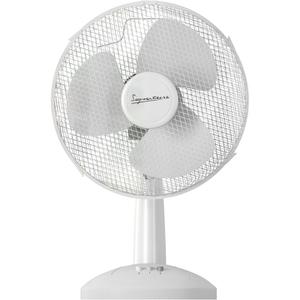 Signature S116N Desk Fan - White - 12 Inch