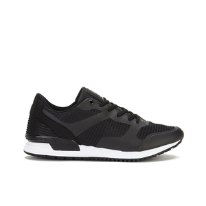 Crosshatch Men's Tricking Mesh Trainers - Black