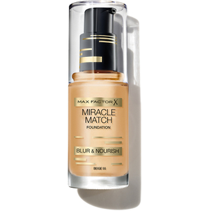 Fond de Teint Max Factor Miracle Match Foundation (Divers Tons)