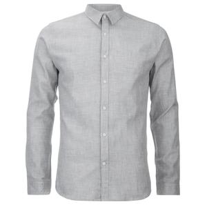 Selected Homme Men's Donenelson Long Sleeve Shirt - Lead