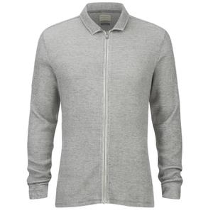 Selected Homme Men's Theo Sweatshirt - Light Grey Melange