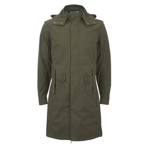 Selected Homme Men's Iconic Fishtail Parka - Olive Night