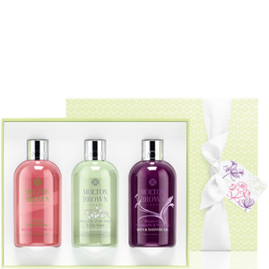 Molton Brown Timless Florals Bathing Gift Trio - 3 x 300ml