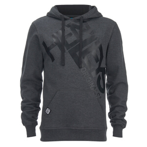 Henleys Men's Cris Hoody - Charcoal