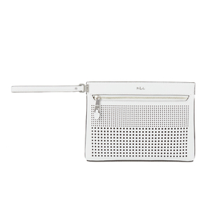 Lauren Ralph Lauren Women's Yasmeen Clutch Bag - Bright White