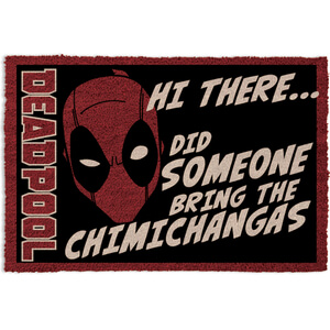 Marvel Deadpool Zavvi Exclusive Limited Edition Door Mat