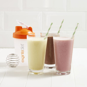 Exante Meal Replacement Shake Sample Pack