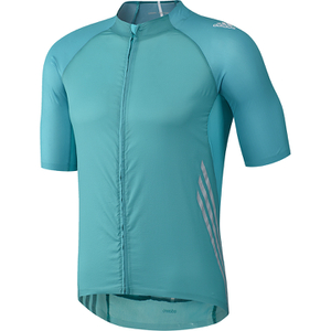adidas Adizero Short Sleeve Jersey - Blue