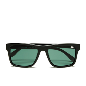 Lacoste Unisex Rectangle Sunglasses - Black