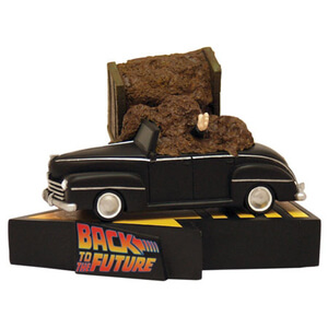 Factory Entertainment Back to the Future Manure Truck Accident Statue