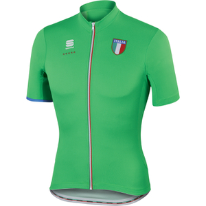 Sportful Italia CL Short Sleeve Jersey - Green