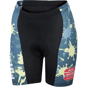 Sportful Children's MGF 15 Shorts - Black/Green
