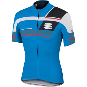 Sportful Gruppetto Pro Team Short Sleeve Jersey - Blue/Red