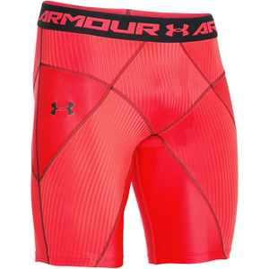 Under Armour Men's HeatGear Armour Core Shorts - Red