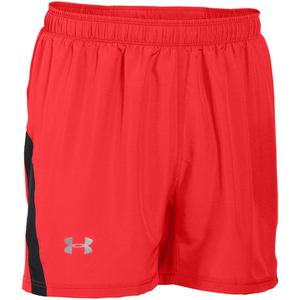 Under Armour Men's Launch 5 Inch Run Shorts - Red