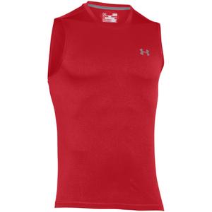 Under Armour Men's Tech Sleeveless T-Shirt - Red