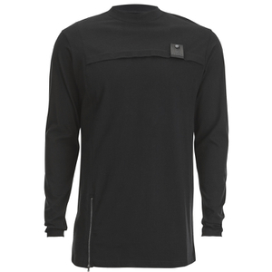 4Bidden Men's Banton Long Sleeve Turtle Neck Top - Black