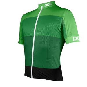 POC Men's Fondo Light Jersey - Pyrite Green
