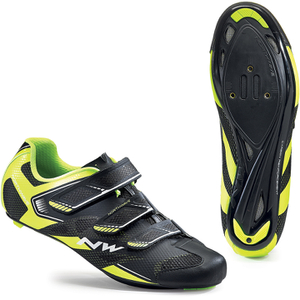 Northwave Men's Sonic 2 Cycling Shoes - Black/Yellow