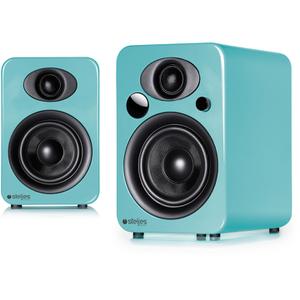 Steljes Audio NS3 Bluetooth Duo Speakers - Lagoon Blue