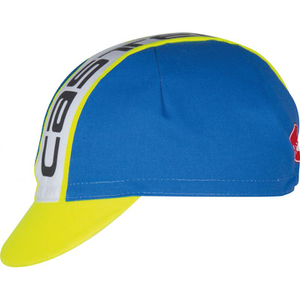 Castelli Meta Cycling Cap - Blue/White