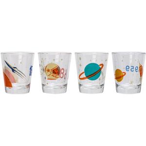 Cosmos Shot Glasses (Set of 4)
