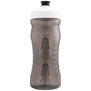 Fabric Cageless Water Bottle (600ml) - Black/White