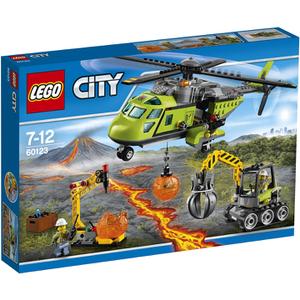 LEGO City: Vulkaan bevoorradingshelikopter (60123)