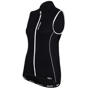 Santini Ora Women's Sleeveless Jersey - Black