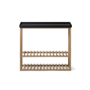 Wireworks Hello Storage Console Table - Black