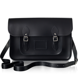 The Cambridge Satchel Company Women's 15 Inch Leather Satchel - Black