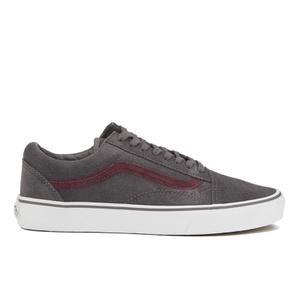 Vans Men's Old Skool Trainers - Grey/Port Royal