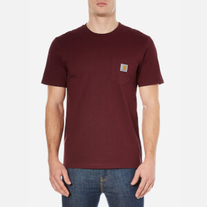 Carhartt Men's Short Sleeve Pocket T-Shirt - Chianti Heather