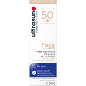 Ultrasun SPF50 + Tinted Face Sun Cream (Various Shades)