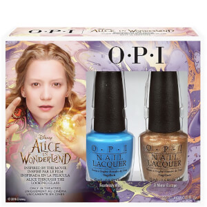 OPI Alice In Wonderland Nail Varnish Collection -  Alice Duo Pack 2 x 15ml