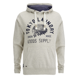 Tokyo Laundry Men's Williamsburg Hoody - Oat Grey Marl