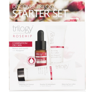 Trilogy Discover Starter Set - Rosehip for Combination/Oily Skin