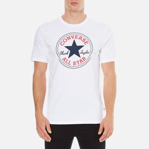Converse Men's All Star Core Chuck Patch T-Shirt - White
