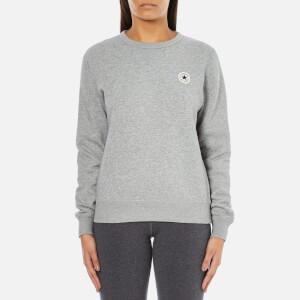 Converse Women's All Star Core Crew Sweatshirt - Vintage Grey Heather