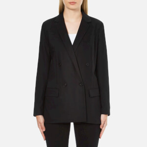MICHAEL MICHAEL KORS Women's Mensie Pocketstitch Blazer - Black