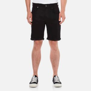 Selected Homme Men's Nalex Denim Shorts - Black