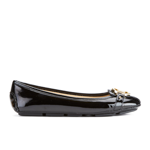 MICHAEL MICHAEL KORS Women's Fulton Patent Leather Moc Pumps - Black