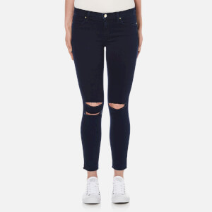 J Brand Women's Ankle Mid Rise Skinny Photoready Jeans - Blue Mercy