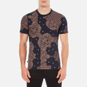 Vivienne Westwood Anglomania Men's Bandan T-Shirt - Terracotta/Navy
