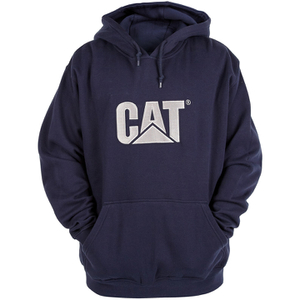 Caterpillar Men's Trademark Sweater Hoody - Blue
