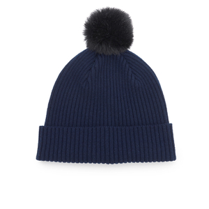Paul Smith Accessories Women's Cashmere Beanie - Navy