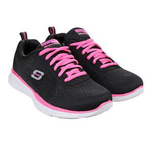 Skechers Women's Equaliser True Form Low Top Trainers - Black