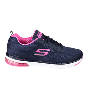 Skechers Women's Skech Air Infinity Low Top Trainers - Navy