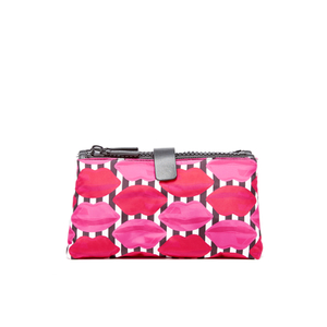 Lulu Guinness Women's Lips Double Make Up Bag - Multi